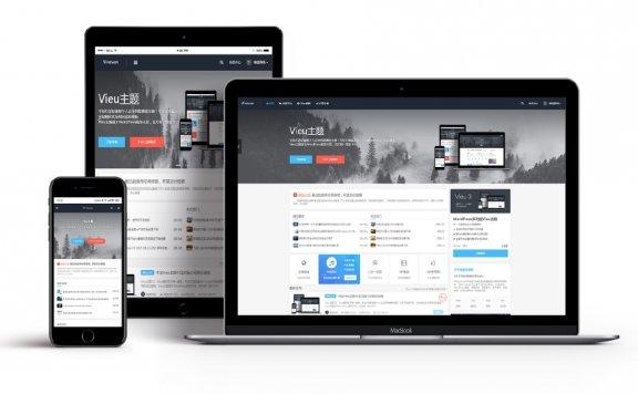 WordPress全新Vieu4.0博客主题源码